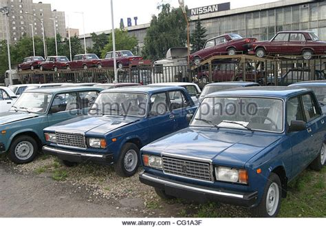 Made Car by Sale Russian Made Lada Cars Stock Photos Sale Russian