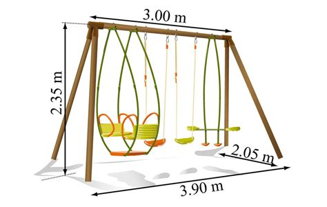 Dimension Balancoire dimension balancoire bois abri de jardin et balancoire id 233 e