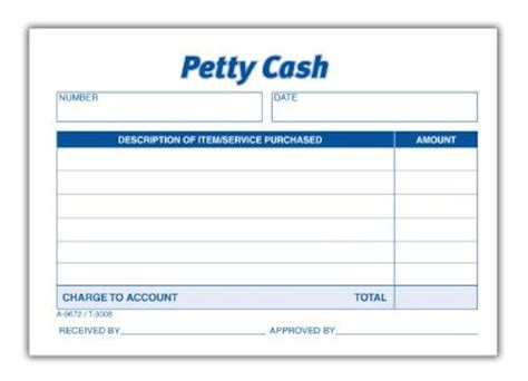 received petty cash slip white 50 sh pd 12 pd pk
