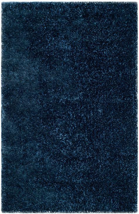 rugs toronto plush navy blue shag toronto collection safavieh