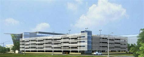 Parking Garage Facade by Clarian Neuroscience Center Of Excellence Renderings And