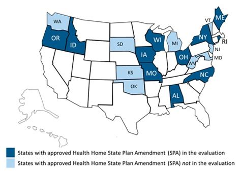 evaluation of the medicaid health home option for