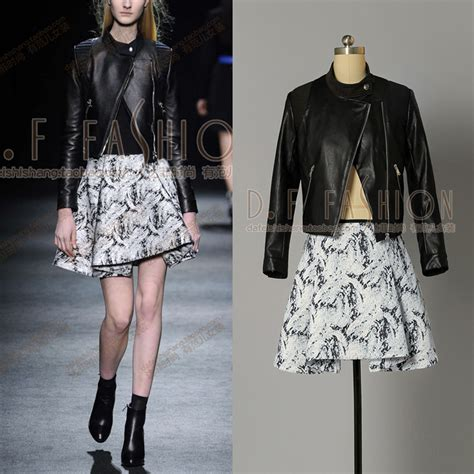 popular womens leather skirt suits buy cheap womens