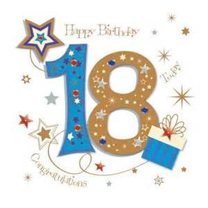 happy 18th birthday greeting card by talking pictures cards kates