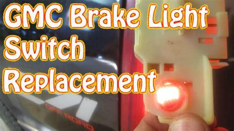 brake light switch 98 chevy silverado diy how to replace a gmc brake light switch chevy