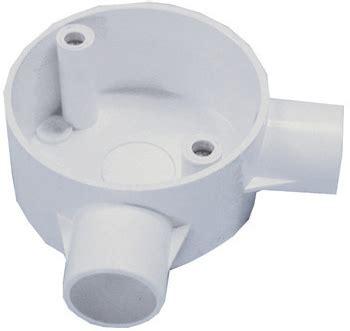 Pvc Conduit System 2 Way Angle greenbrook electrical pangle25w circular box angle 2