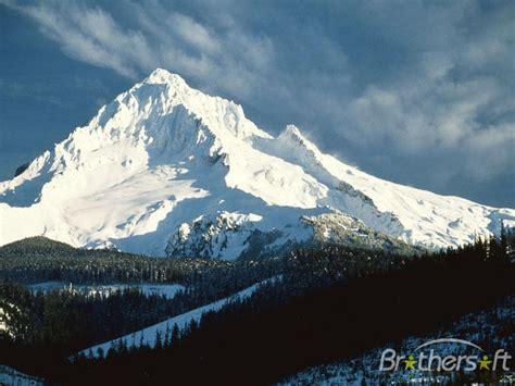 lofty mountains  screensaver lofty