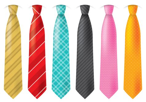 colorful ties free vector stock graphics