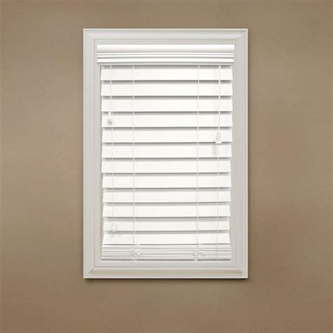 home decorator collection blinds home decorators collection cut to width white 2 1 2 in