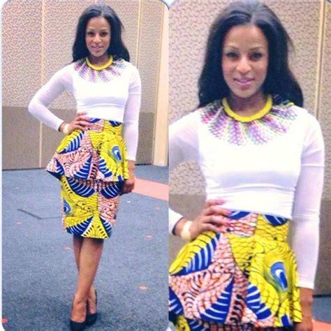 Jessica Nkosi Skirt Necklace Tribal Fashion | jessica nkosi skirt necklace celebrity fashion