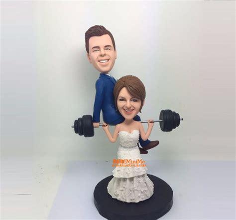 bobblehead wedding topper custom cake topper wedding topper bobblehead custom
