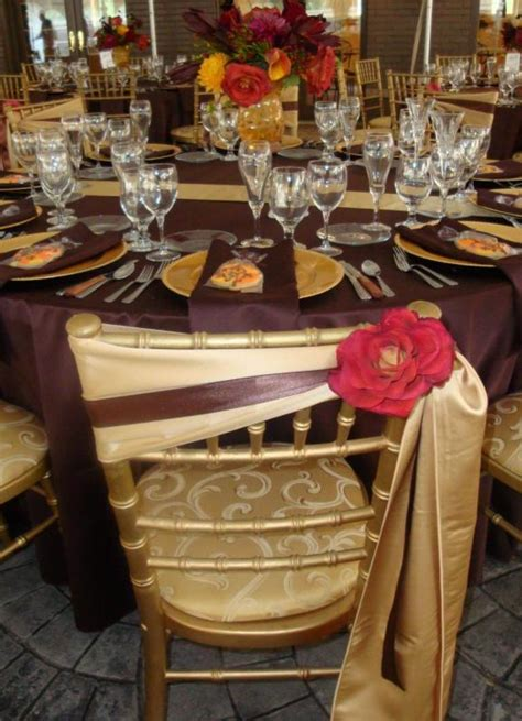 Burgundy Table Ls by Wedding Inspiration Color Wedding Ideas Table Setting