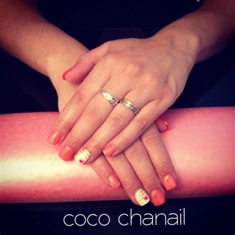 Ongle Couleur Corail by Ongle En Gel Couleur Corail