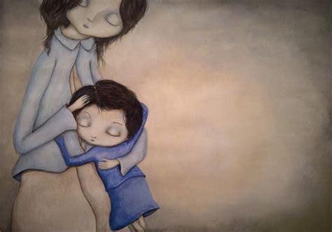 imagenes de niña triste la ni 241 a triste domestika