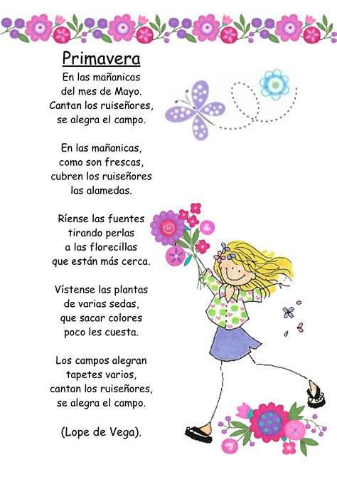 imagenes sensoriales poesia infantil poemas infantiles para imprimir