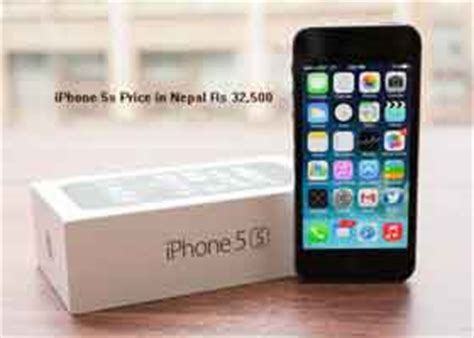 apple iphone 5s price nepal specification and reviews