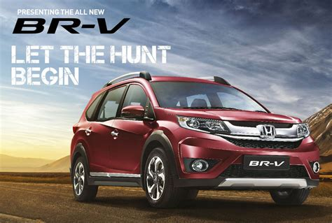 honda brv honda br v launched in india inr 8 75 lakhs ex showroom