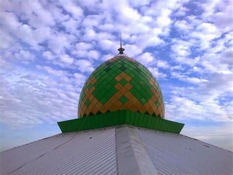 Teflon Terbaik foto karya kubah masjid enamel zincalume terbaik
