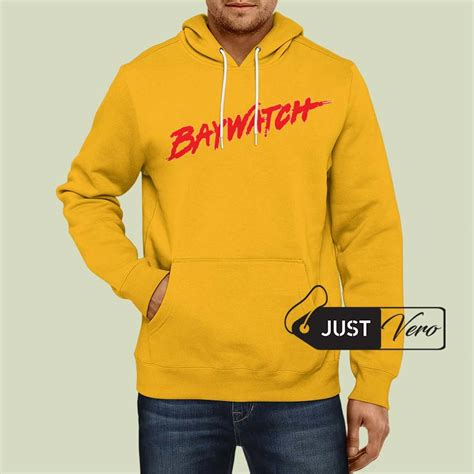 Hoodie Yellow Claw 06 hoodie pullover yellow baywatch unisex