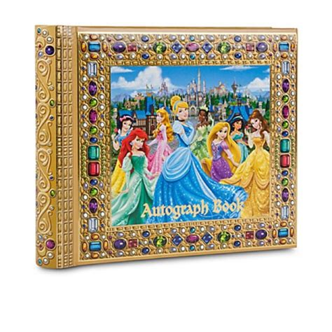 disney world picture book new disney world disneyland princesses deluxe autograph