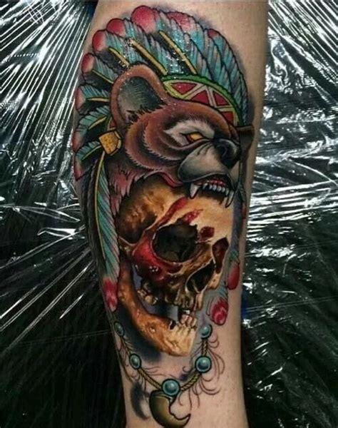bear skull tattoo 26 best refet images on bears animal