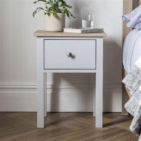 banbury grey bedside table homesdirect