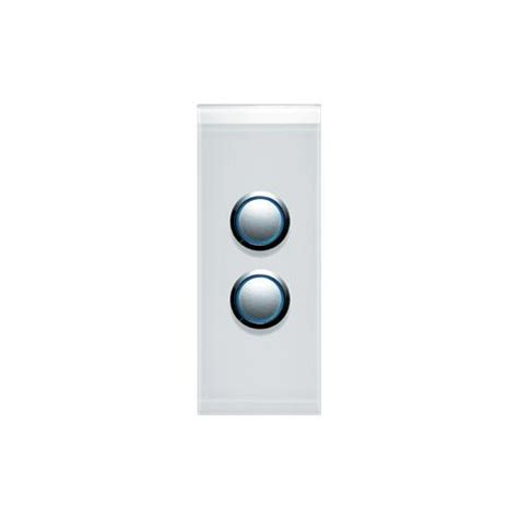 clipsal saturn clipsal saturn 4062alpw 2 pushbutton led architrave