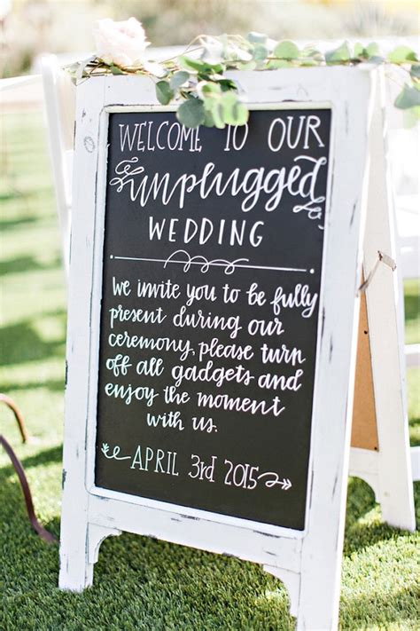 Unplugged Wedding Announcement by 10 Reasons To An Unplugged Wedding