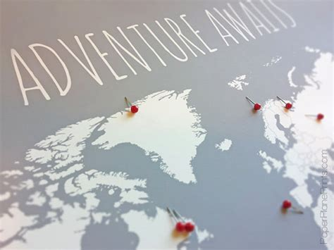 diy world travel map diy travel map world map poster with tacks or stickers