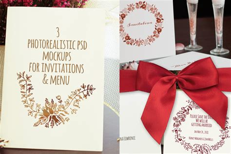 Wedding Album Mockup Psd Free by 16 Invitation Mockups Psd Images Wedding Invitation Psd