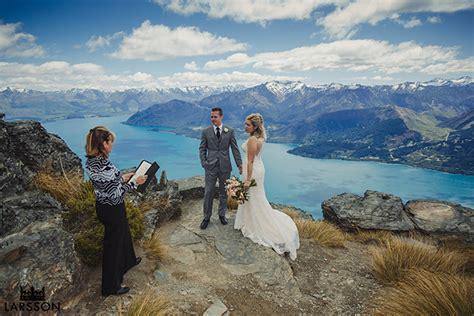 Wedding Ceremony Queenstown by Heli Wedding Nz Heli Wedding On The Ledge Queenstown