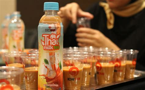 Ichitan Teh Tawar Kemasan thai milk tea dan the tawar kini ready to drink