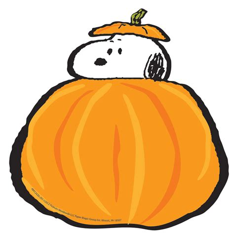 peanuts fall pumpkins paper kids cut outs eureka school