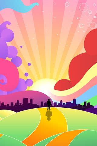 colorful cartoon wallpaper dhayzon 3d iphone wallpapers fondos de pantalla 230x480