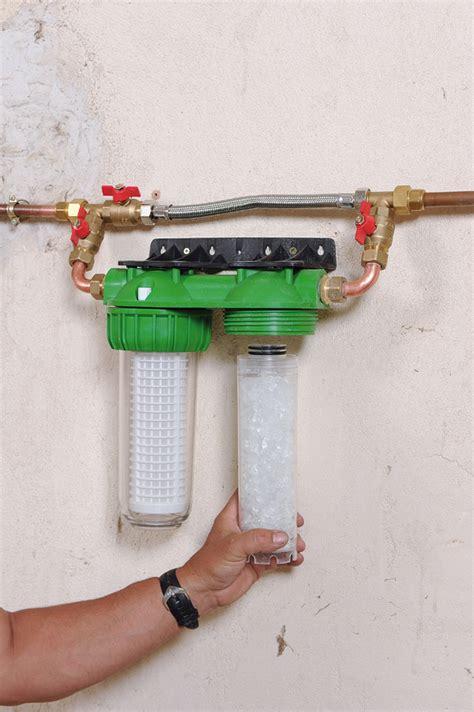 Monter Une Cloison En Bois 1584 installer un d 233 tecteur de fuite d eau et un filtre
