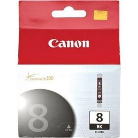 Canon Cli 8bk Ink Original 1 cli 8bk ink cartridge canon genuine oem black