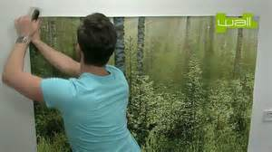 how to hang a wall mural 1 wall wallpaper mural hanging instructions youtube