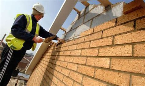 house building held up by brick shortage property