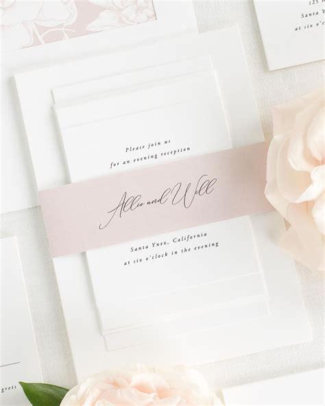 Wedding Invitation Collections by Alyssa Wedding Invitation Collection Shine Wedding