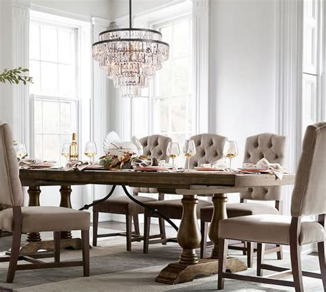 Pottery Barn Dining Room Lighting Gemma Chandelier Pottery Barn