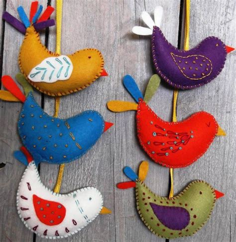 25 best ideas about felt birds on pinterest felt crafts