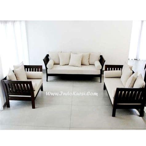 Kursi Ruang Tamu Minimalis Dan Harga kursi tamu minimalis cat hitam indo kursi mebel indo