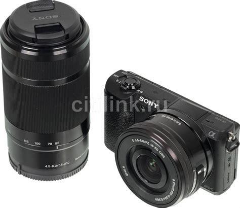 Sony Alpha A5100 Kit F 3 5 5 6 Oss sony alpha a5100 kit e pz 16 50mm f 3 5 5 6