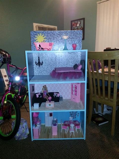 diy barbie doll house diy barbie doll house diy dollhouse pinterest