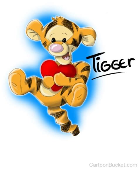 imagenes de winnie pooh bebe tiernas baby tigger with heart