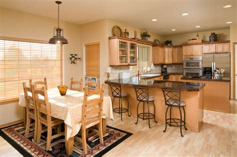 kitchen and dining room layout ideas what s hot in kitchen design kitchen dining rooms
