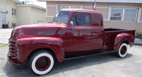 Chevrolet Sale Restored 1952 Chevrolet Custom Extended Cab For Sale