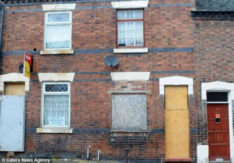 houses needing renovation for sale empty houses for sale for 163 1 in britain s cheapest street daily mail online