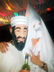 picture exclusive dressed   bin laden    klux