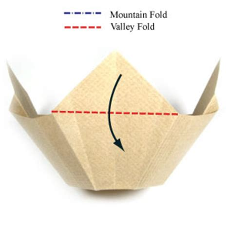 Paper Bowl Origami - how to make a 3d origami bowl page 5